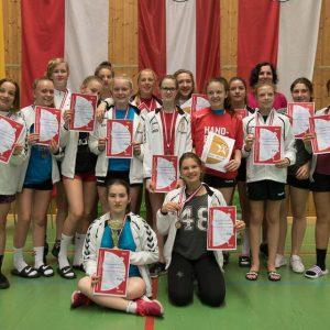 Bronzemedaille bei der ÖMS U12W 2016/2017