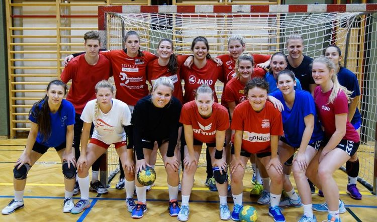 WHA Training mit Nationalteamspieler