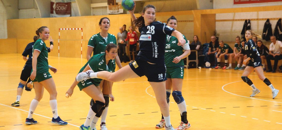 Erfolgreiche Auswärtsspiele für U13w, U18w, WHA in Eggenburg