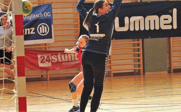 U18w  Spiele gegen GKL Waldviertel und gegen MGA