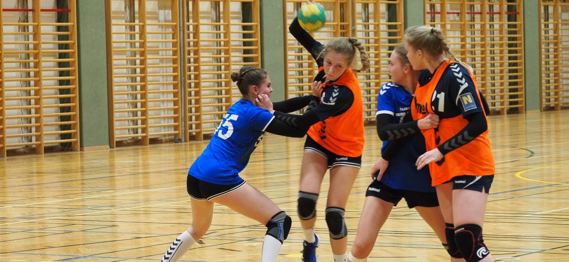 U16w Blitzstart im Spiel gegen den Vöslauer HC