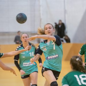 Die Wiener Neustädter Sparkasse U18 gewinnt in Eggenburg 36:31