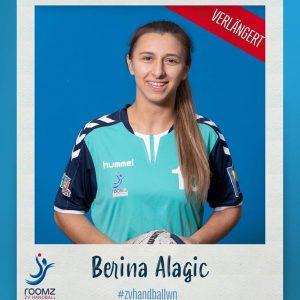 Auch Berina Alagic bleibt weiterhin bei uns.